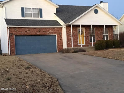 Carl Junction MO Single Family Home For Sale: $154,900