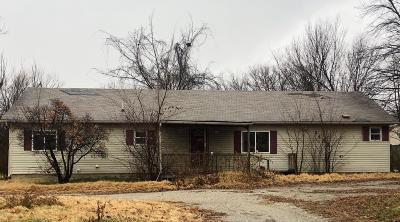 Webb City MO Single Family Home For Sale: $62,500