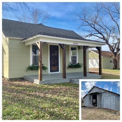 Jasper County Single Family Home For Sale: 6948 E 20th Street