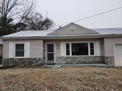 Newton County Single Family Home For Sale: 422 Freeman