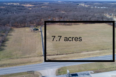 Barry County, Barton County, Dade County, Greene County, Jasper County, Lawrence County, McDonald County, Newton County, Stone County Residential Lots & Land For Sale: Highway 59