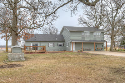 Newton County Single Family Home For Sale: 7831 Highway P