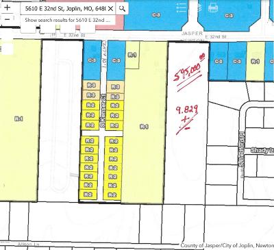 Newton County Residential Lots & Land For Sale: 5610 E 32nd Street