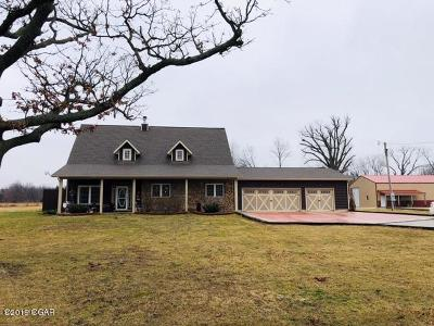Neosho MO Single Family Home For Sale: $354,900