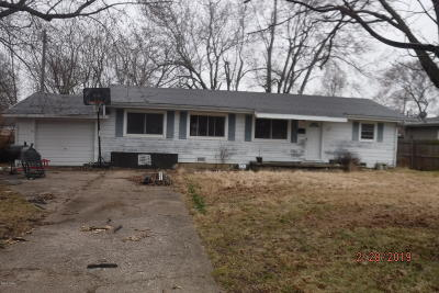 Neosho MO Single Family Home For Sale: $26,400