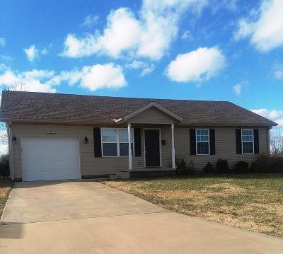 Joplin MO Single Family Home For Sale: $113,900