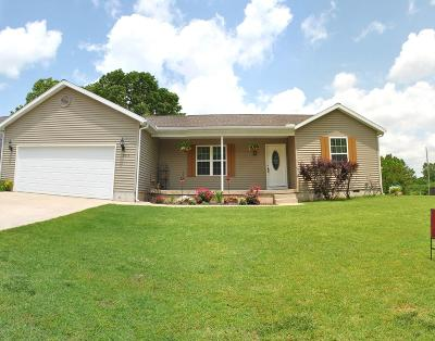 Carthage MO Single Family Home For Sale: $150,000