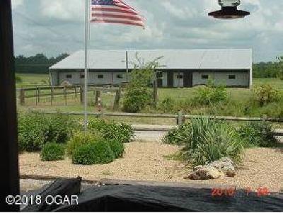 Newton County Farm & Ranch For Sale: 23241 Elder Road