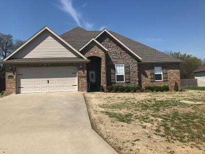 Jasper County Single Family Home For Sale: 1459 Matthew Circle