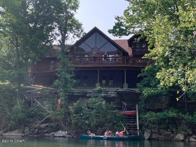 McDonald County Single Family Home For Sale: 118 Penitentiary Bend