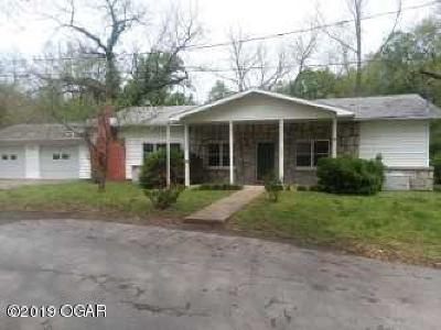 McDonald County Single Family Home Active With Contingencies: 107 Bluff Street