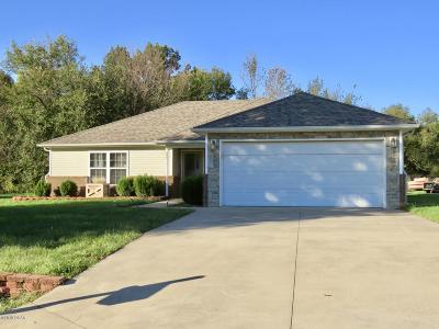 Jasper County Single Family Home For Sale: 1043 Millruss Place