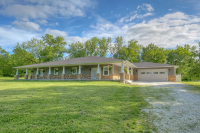 Jasper County Single Family Home Active With Contingencies: 7925 County Road 190