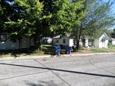 Barry County, Barton County, Dade County, Greene County, Jasper County, Lawrence County, McDonald County, Newton County, Stone County Multi Family Home For Sale: 617-19-21 E 13th