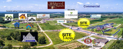 Newton County Residential Lots & Land For Sale: 5300 W 32nd Tract 1