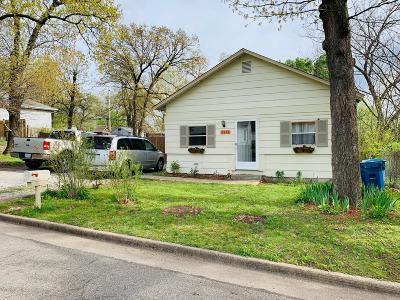 Barry County, Barton County, Dade County, Greene County, Jasper County, Lawrence County, McDonald County, Newton County, Stone County Single Family Home For Sale: 2410 Odessa Street