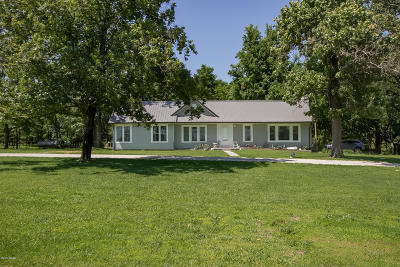 Jasper County Single Family Home For Sale: 6375 Blackberry Road
