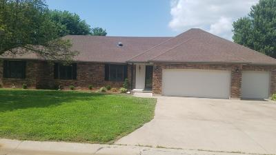 Jasper County Single Family Home For Sale: 3815 Northview Drive
