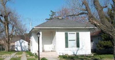 Jasper County Single Family Home For Sale: 1922 S Porter
