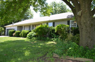 Jasper County Single Family Home Active With Contingencies: 5034 W 20th Street