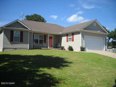 Jasper County Single Family Home For Sale: 1021 Yuma Street