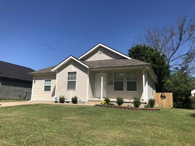 Jasper County Single Family Home For Sale: 1909 Central Street