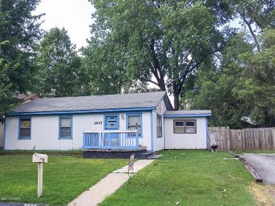 Jasper County Single Family Home For Sale: 2935 W 15th Street