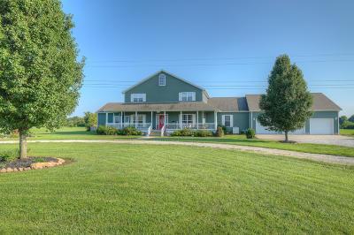 Jasper County Single Family Home For Sale: 10666 Farm Lane