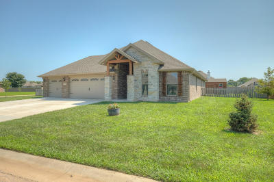 Jasper County Single Family Home For Sale: 801 Blackthorn Drive