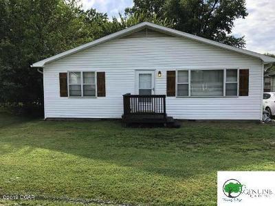 Jasper County Single Family Home For Sale: 2402 Iron Gates Road