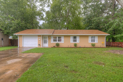 Neosho Single Family Home For Sale: 804 Riverside Drive