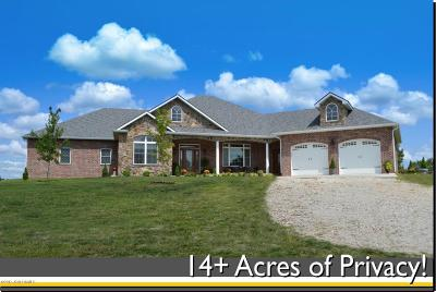 Single Family Home For Sale: 8932 Nine Hills Lane