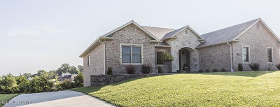 Single Family Home For Sale: 6116 Kleffner Ridge
