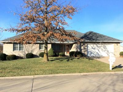 Single Family Home For Sale: 1127 Hampton Lane