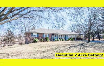 Single Family Home For Sale: 10968 Old Us Hwy 54