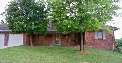 Jefferson City Single Family Home For Sale: 4525 Green Valley Drive