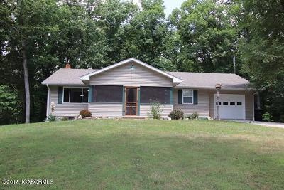 Fulton Single Family Home For Sale: 6271 Red Bud Lane