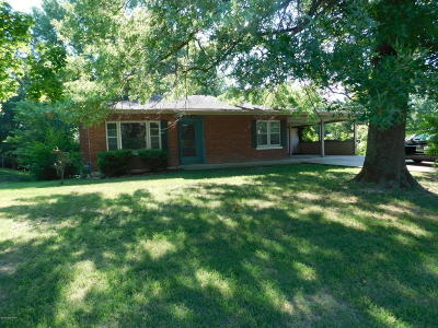 Jefferson City MO Single Family Home For Sale: $59,900