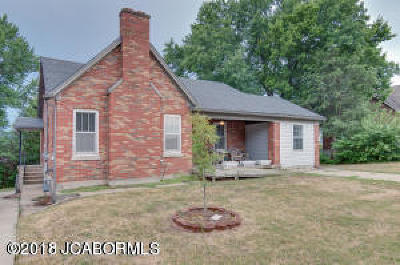 Jefferson City MO Single Family Home For Sale: $119,500