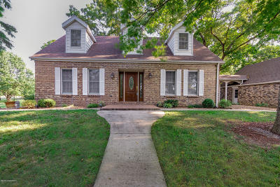 Jefferson City Single Family Home For Sale: 7800 Colonial Road