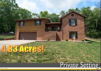 Jefferson City Single Family Home For Sale: 2621 Dogwood Bluff Drive