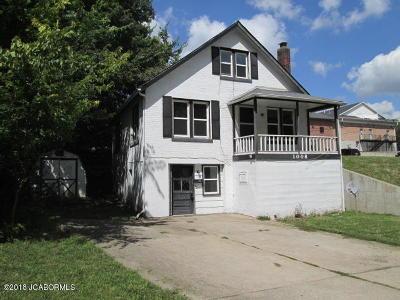 Jefferson City MO Single Family Home For Sale: $34,900
