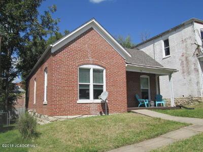 Jefferson City MO Single Family Home For Sale: $58,000