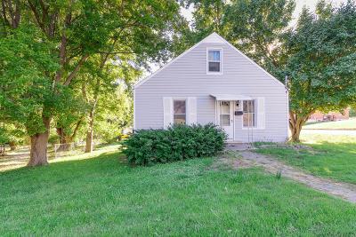 Jefferson City MO Single Family Home For Sale: $58,500