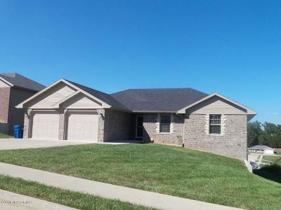 Jefferson City MO Single Family Home For Sale: $205,000