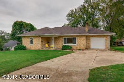 Jefferson City MO Single Family Home For Sale: $115,900
