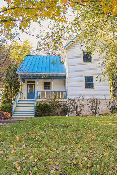 Single Family Home For Sale: 205 Church Hill Street