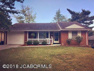 Jefferson City MO Single Family Home For Sale: $145,000