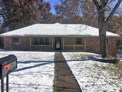 Jefferson City MO Single Family Home For Sale: $174,900