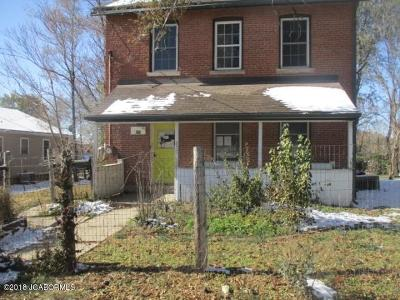 Single Family Home For Sale: 823 Jefferson Street